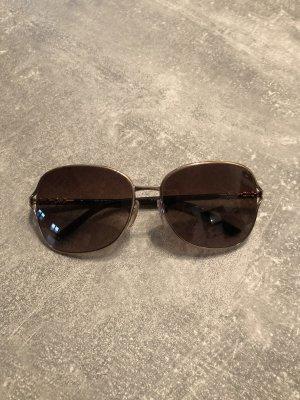Burberry Occhiale da sole ovale oro