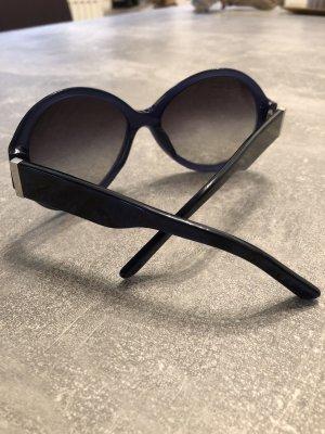 Burberry Occhiale da sole ovale blu scuro