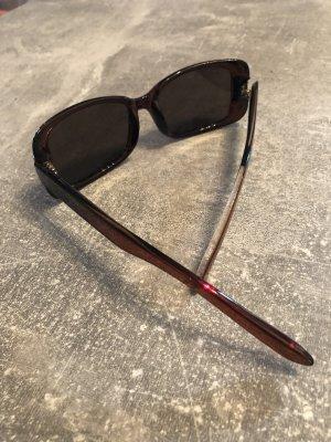 Burberry Hoekige zonnebril donkerbruin