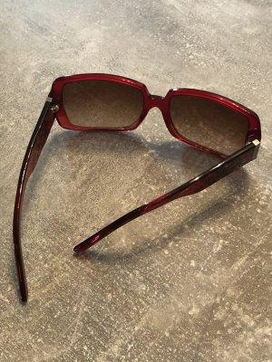 Burberry Okulary retro głęboka czerwień
