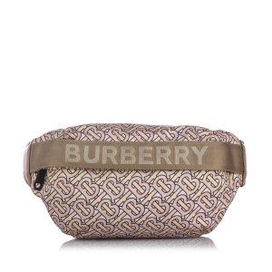 Burberry Sonny Monogram Nylon Belt Bag