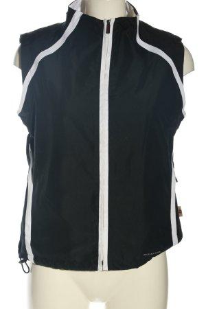 Burberry Gilet de sport noir-gris clair style décontracté