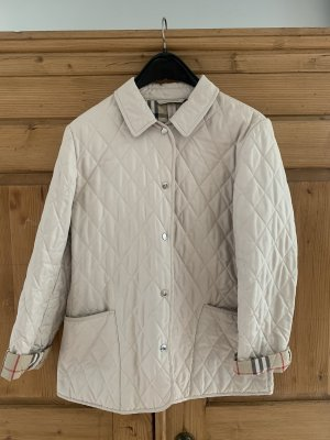 Burberry London Quilted Jacket oatmeal
