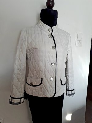 Burberry Quilted Jacket white-black