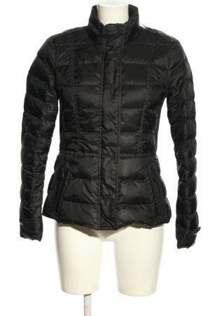 Burberry Pikowana kurtka czarny Pikowany wzór W stylu casual