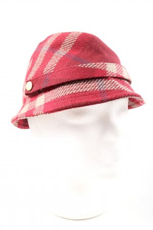 Burberry Woolen Hat check pattern casual look