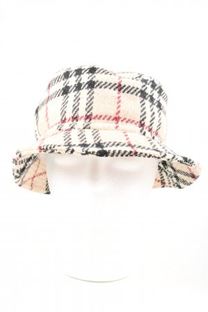 Burberry Fabric Hat check pattern casual look