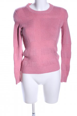 Burberry Knitted Sweater pink casual look
