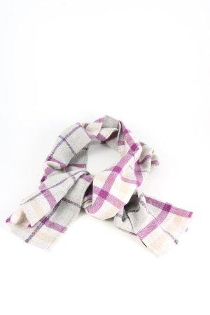 Burberry Écharpe en tricot motif à carreaux style décontracté