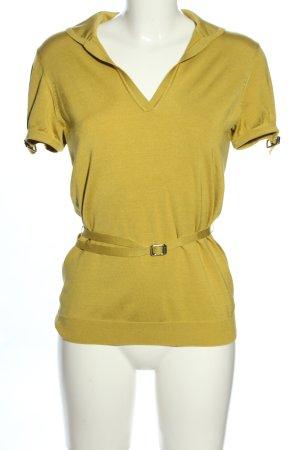 Burberry Koszulka z dzianiny bladożółty W stylu casual