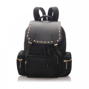 Burberry Studded Nylon Backpack