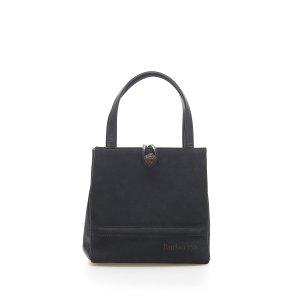 Burberry Handbag black suede
