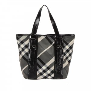 Burberry Tote black polyvinyl chloride