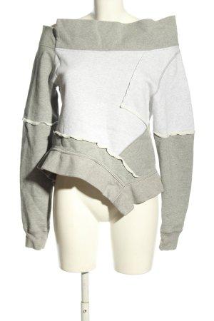 Burberry Bluza dresowa jasnoszary Melanżowy W stylu casual