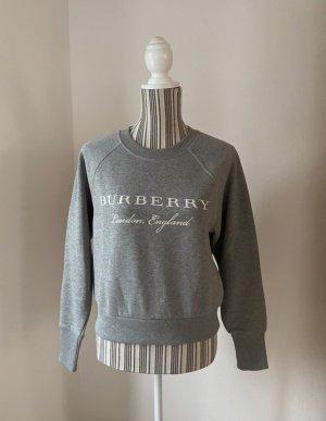 Burberry London Sweatshirt gris-blanc