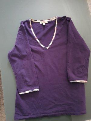 Burberry London Top à manches longues violet foncé