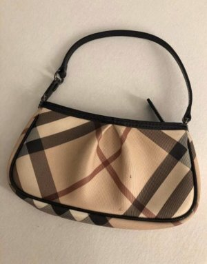 Burberry Clutch zwart-beige