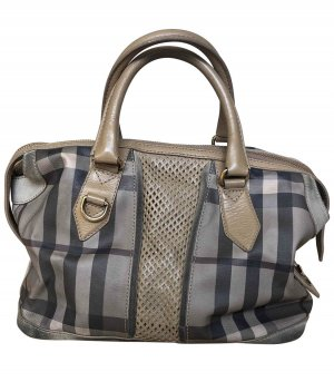 Burberry Bowling Bag multicolored leather