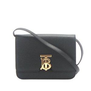 Burberry TB Leather Crossbody Bag
