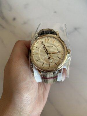 Burberry Reloj analógico beige-negro