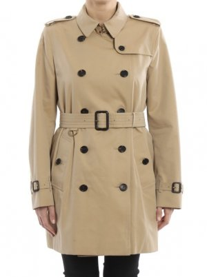 Burberry Trenchcoat chameau coton