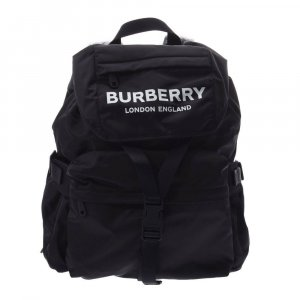Burberry Backpack black cotton