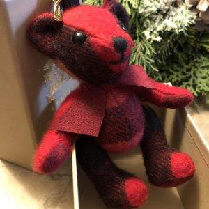 """Burberry """"Thomas"""" Teddybär Taschenanhänger, Schlüsselanhänger, Sammlerstück"""