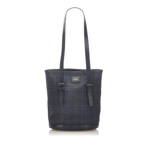 Burberry Tonal Check Tote Bag