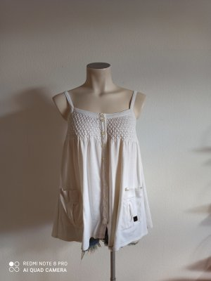Burberry Strappy Top natural white