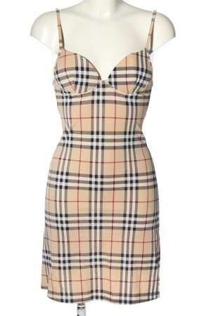 Burberry Pinafore dress allover print casual look