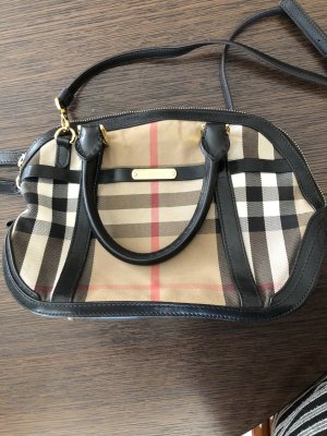 Burberry Carry Bag multicolored linen