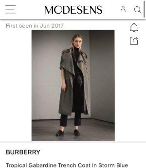 Burberry Trenchcoat veelkleurig