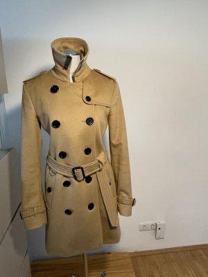 Burberry Trench Coat beige-camel wool