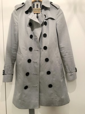 Burberry London Trench Coat light grey cotton