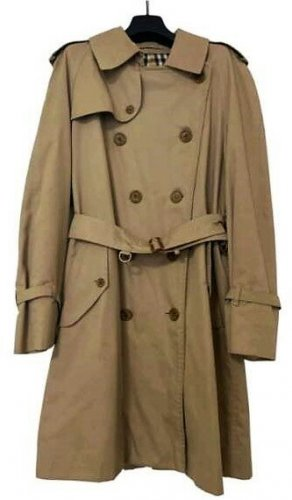 Burberry Trenchcoat chameau-beige polyester