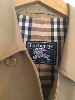 Burberry Abrigo ancho marrón arena-camel Poliéster