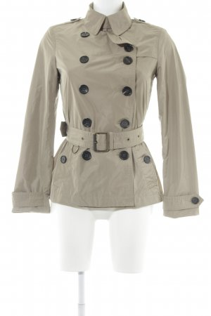 "Burberry Trench Coat ""Burberry Cropped Balmoral Trenchcoat Sisal"" grey brown"