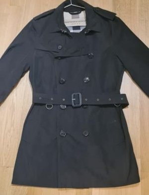 Burberry Pea Jacket dark blue