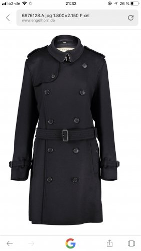 Burberry Long Jacket black
