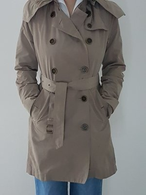 Burberry Brit Parka beżowy Poliester