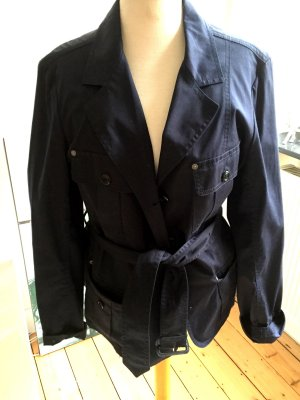 Burberry Short Coat dark blue