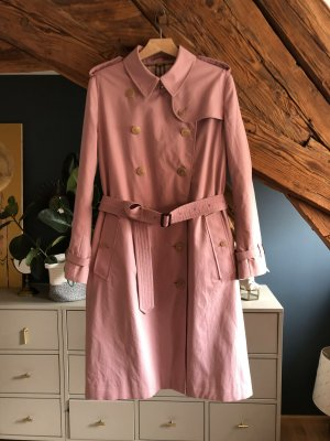 Burberry Trenchcoat Mantel Trench Rose