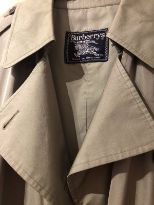 Burberry Trench Coat sage green
