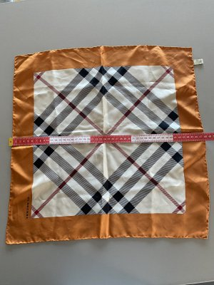 Burberry Silk Cloth orange-beige silk