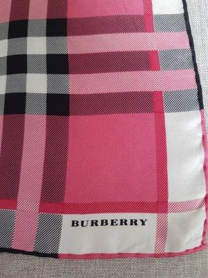 Burberry Sciarpa di seta multicolore
