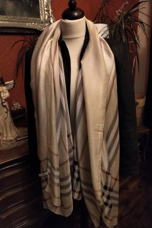 Burberry Summer Scarf oatmeal