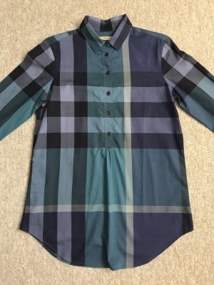 Burberry Long Sleeve Blouse multicolored