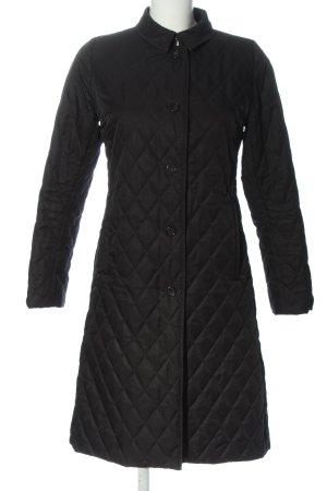 Burberry Płaszcz przejściowy czarny Pikowany wzór W stylu casual