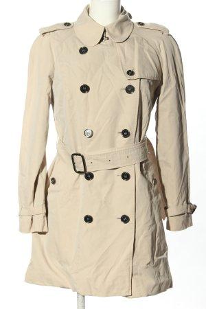 Burberry Płaszcz przejściowy kremowy W stylu casual