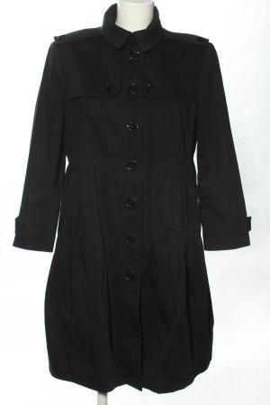 Burberry Manteau mi-saison noir style décontracté